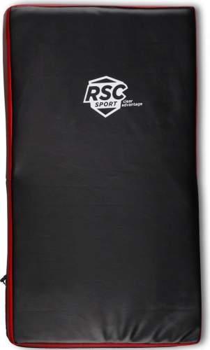 Макивара изогнутая RSC PU 3740 33*60 см Черно-красный