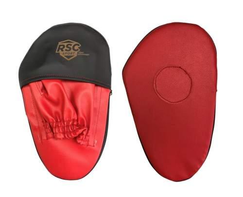 Лапа боксерская прямая малая RSC COMBAT и/к RSC010 28*17*4 см Красно-черный