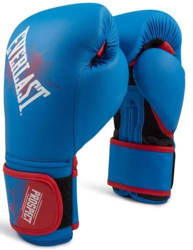 Перчатки боксёрские детские EVERLAST PROSPECT PU P00001644 6 унций Синий