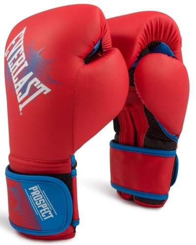 Перчатки боксёрские детские EVERLAST PROSPECT PU P00001644 8 унций Красный