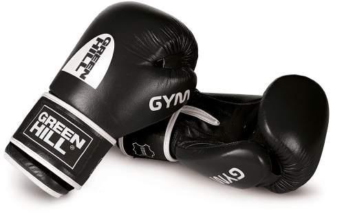 Перчатки боксёрские Green Hill GYM н/к BGG-2018 16 унций Черный