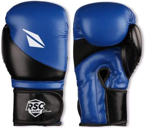 Перчатки боксёрские RSC PU FLEX BF BX 023 8 унций Сине-черный