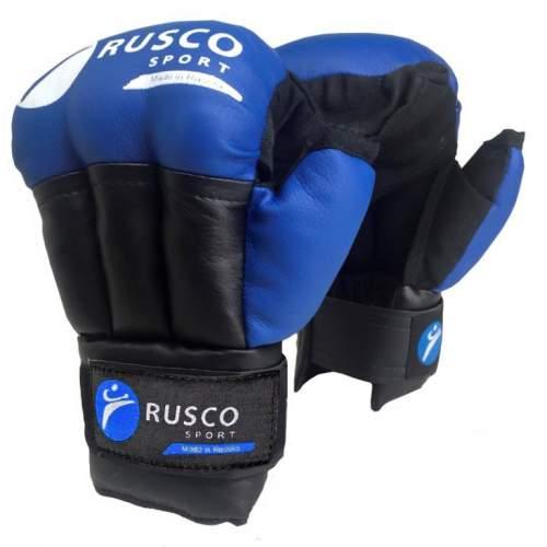 Перчатки для рукопашного боя RUSCO SPORT и/к RS-30 8 унций Синий