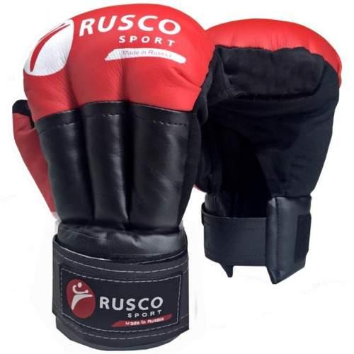 Перчатки для рукопашного боя RUSCO SPORT и/к RS-30 8 унций Красный