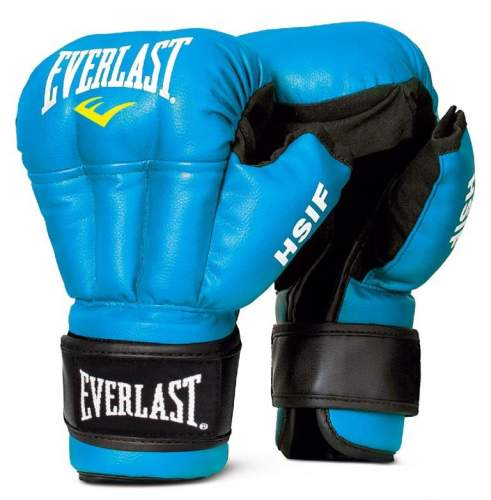 Перчатки для рукопашного боя EVERLAST HSIF PU RF3210 10 унций Синий