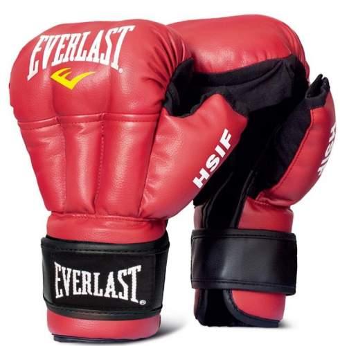 Перчатки для рукопашного боя EVERLAST HSIF PU RF3106 6 унций Красный