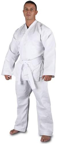Кимоно карате традиционное хлопок 100 % плотность 270-300 г/м2 RA-011 52-54/182 Белый