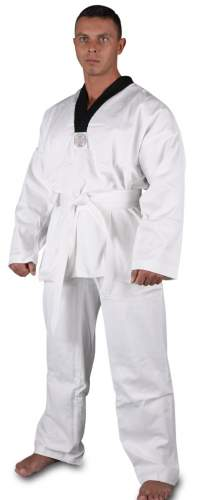 Кимоно таэквондо хлопок 100%, 270-300 г/м2 RA-004 32-34/134 Белый