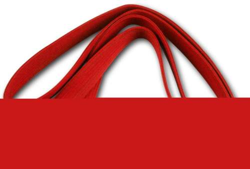 Пояс для кимоно RA-009 2.6 м Красный