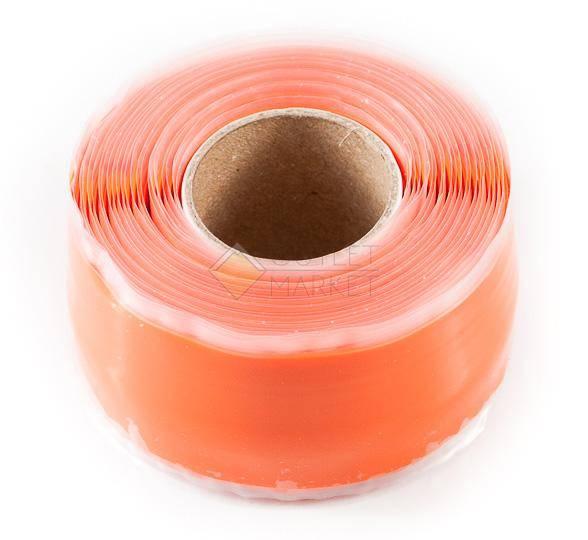 Защита велосипеда ESI Silicon Tape Оранжевая