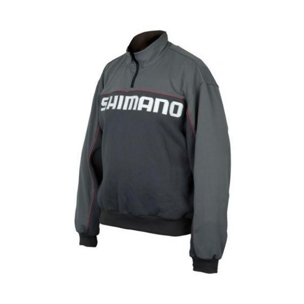 Свитер Shimano HFG HALF ZIP SWEAT 02 SHHZSWL