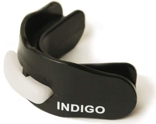 Капа 2 челюстная INDIGO термо в контейнере MD-01-TP Черный