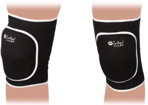 Наколенник волейбольный изогнутый INDIGO 2009С-TSE L Черный
