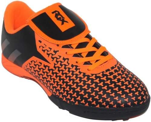 Бутсы футбольные шипованные RGX (сороконожки) SB-M-019 32 Черно-оранжевый