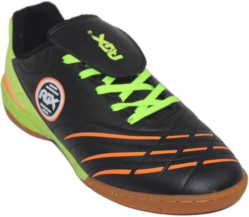 Бутсы футбольные зальные RGX ZAL-018 30 Черно-салатовый
