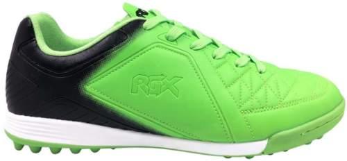 Бутсы футбольные шипованные RGX (сороконожки) SB-M-050 35 Черно-зеленый