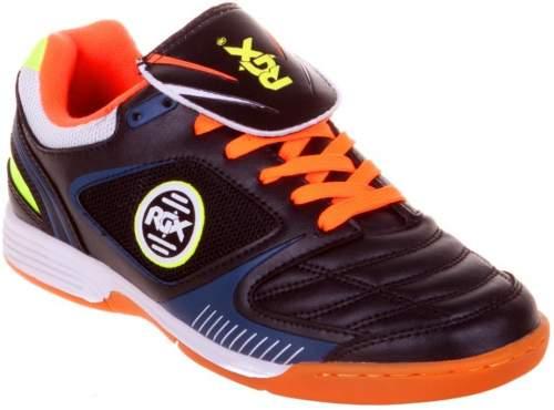 Бутсы футбольные зальные RGX ZAL-013 45 Черно-оранжевый