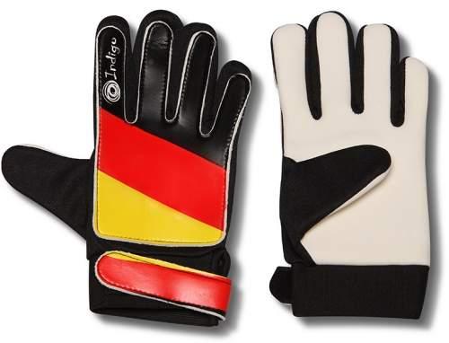 Перчатки вратарские INDIGO 200023 L Черно-красно-желтый