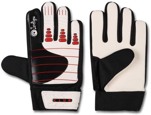Перчатки вратарские INDIGO 1407 8 Черно-белый