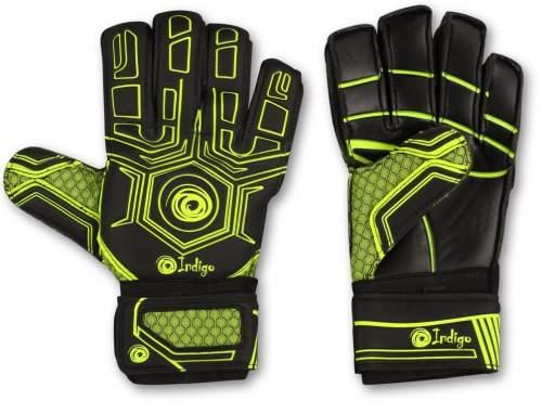 Перчатки вратарские INDIGO 1218-A 10 Черно-зеленый