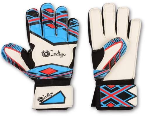Перчатки вратарские INDIGO 2023-D 8 Бело-голубой