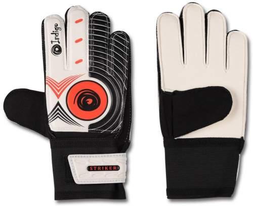 Перчатки вратарские INDIGO 1408 8 Черно-белый