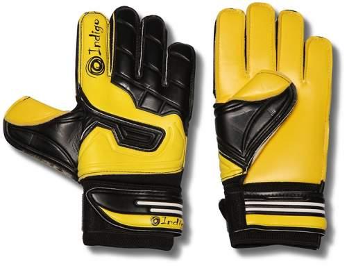 Перчатки вратарские INDIGO 200009 9 Черно-желтый