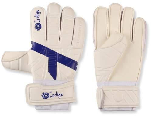 Перчатки вратарские INDIGO 200007 9 Бело-синий