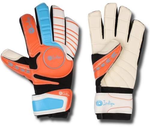 Перчатки вратарские INDIGO 1420 9 Оранжево-черный