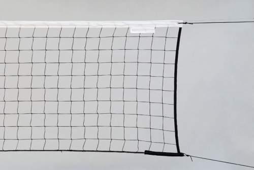 Сетка волейбольная ПРОФИ (нить 4,0 мм) без троса 9,5*1 м Черный