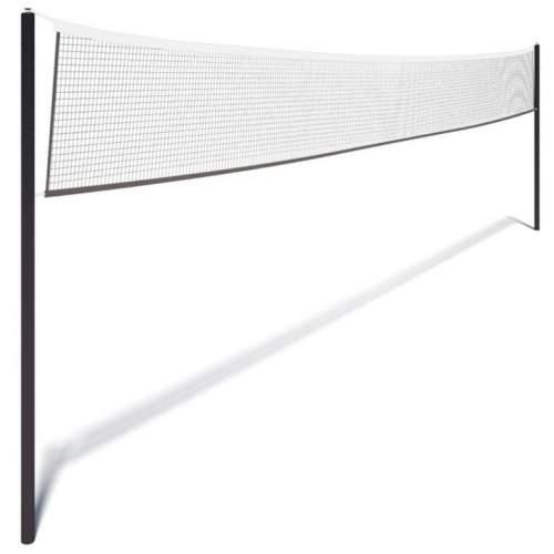 Сетка волейбольная (нить 2,5 мм) без троса 9,5*1 м Белый