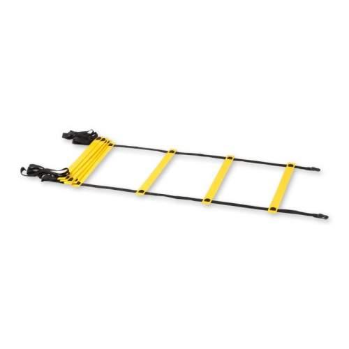 Лестница координационная Кроссфит 9 ступеней KO-260 4,0*0,51 м Желтый
