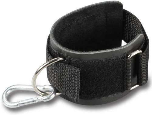 Манжета на запястье с карабином (кожа) GS09B 12*8*5 см Черный