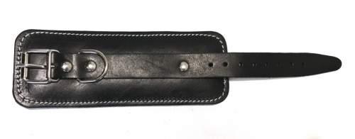 Манжета на запястье многофункциональная (кожа) GS013 22*8*2 см Черный