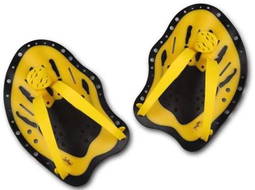 Лопатки для плавания INDIGO PD-1 S Желтый