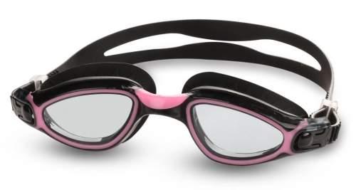 Очки для плавания INDIGO TARPON GS22-3 Черно-розовый