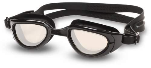 Очки для плавания INDIGO MANTIS зеркальные S997M Черный