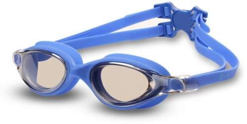 Очки для плавания INDIGO DRAGONFLY зеркальные S999M Синий