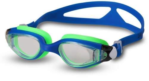 Очки для плавания детские INDIGO NEMO GS16-1 Сине-салатовый