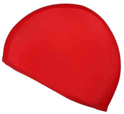 Шапочка для плавания ткань LUCRA SM однотонная SM-091 Красный