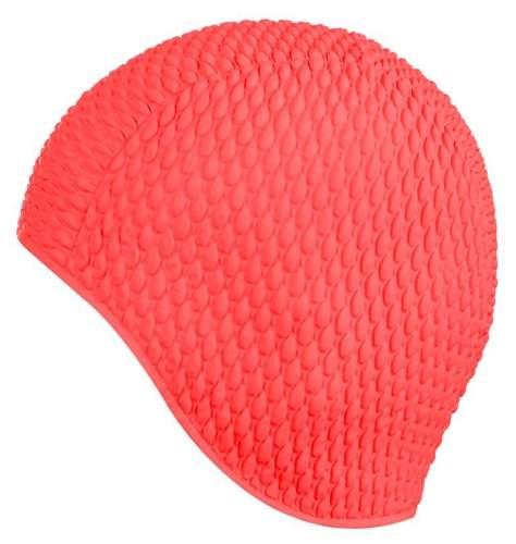Шапочка для плавания INDIGO Bubble женская IN079 Красный
