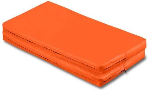 Мат гимнастический складной SM SM-108 1*1*0.08 м Оранжевый