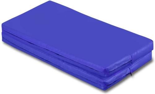 Мат гимнастический складной SM SM-108 1*1*0.08 м Синий