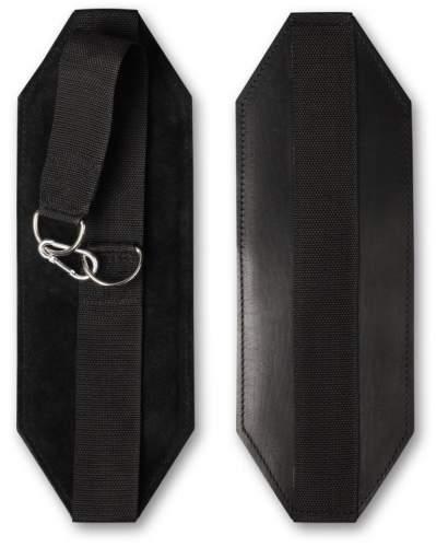 Петли Береша подвесные для упражнений на турнике (кожа) GS07 Черный