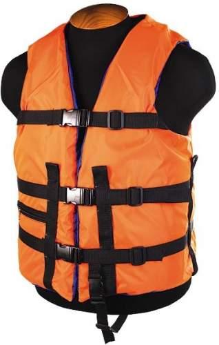 Жилет страховочный до 100 кг SM-026 L (50-54) Оранжевый