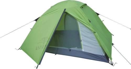 Палатка INDIGO Outland-3 180*50+50*220*120см Зелено-серый