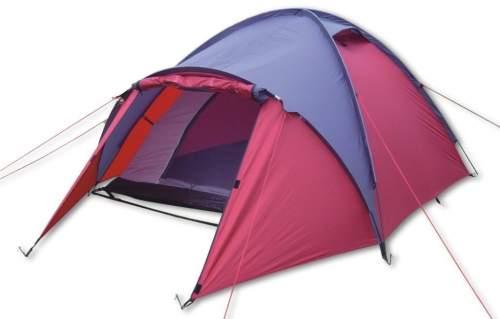 Палатка INDIGO Lena-3 210+120*210*130 см Розово-фиолетовый