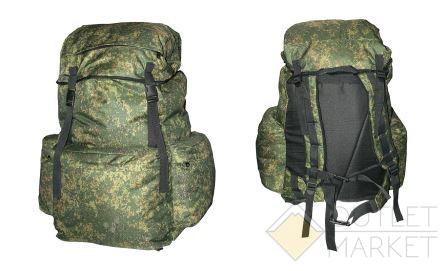 Рюкзак MARK19 Рыбак 3 жесткая спина SM-207 60 л КМФ