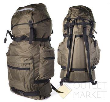 Рюкзак MARK19 Лес 1 жесткая спина SM-213 80 л Хаки