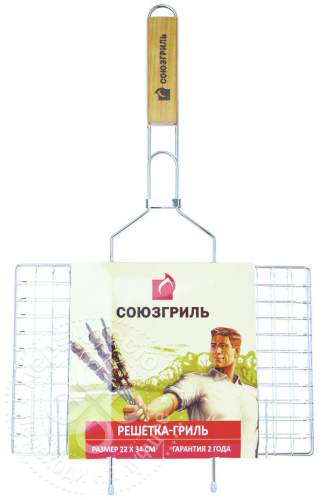 Решетка СОЮЗГРИЛЬ для гриля N1-G01 22*35 см